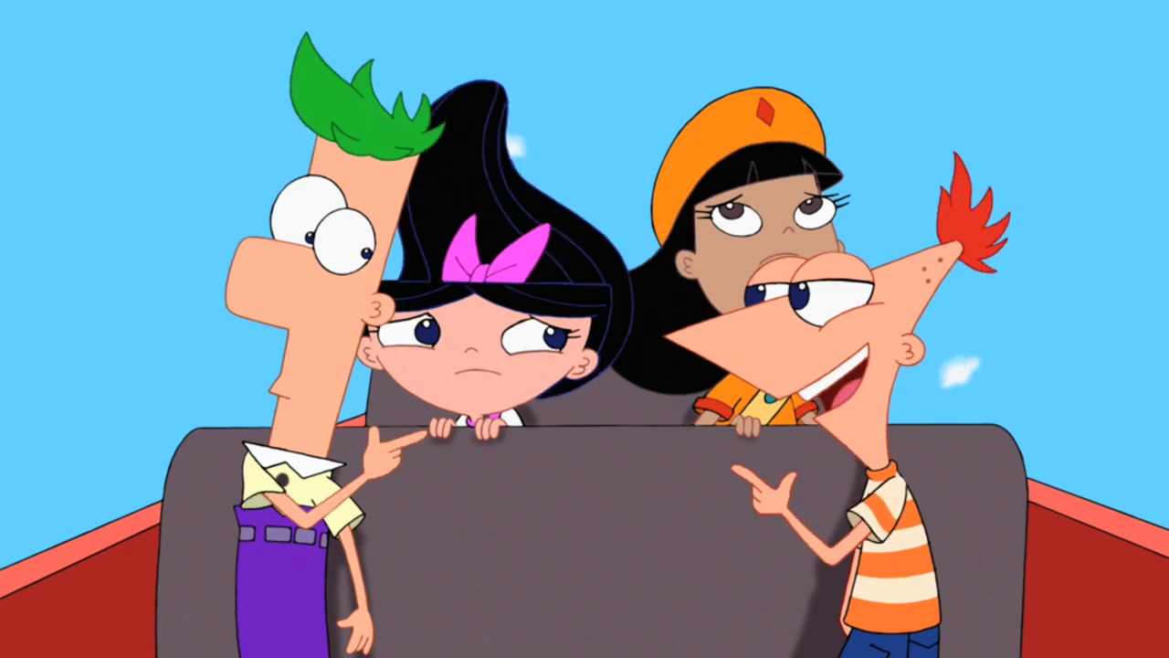 Und candas phineas nackt ferb Phineas and